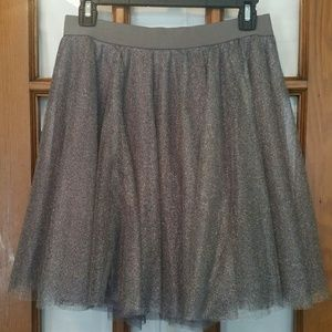 LC Lauren Conrad Tulle Skirt Size M FLAW